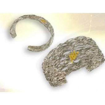 Bracelet jonc argent BUISSON
