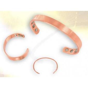 Bracelet  cuivre 6 aimants à personnaliser