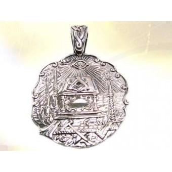 Médaille maçonnique Le tapis de loge