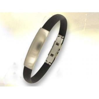 Bracelet a graver en acier inoxydable