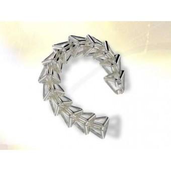 Bracelet Maçonnique Pyramide argent