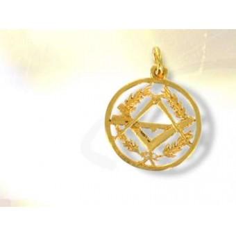 Médaille maçonnique  vermeil ou argent