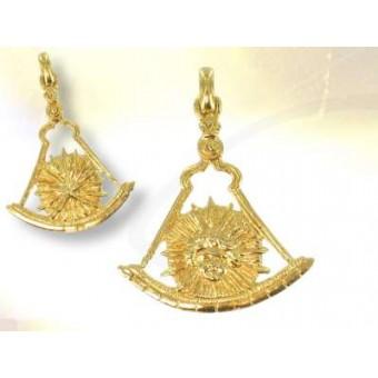 Pendentif maçonnique Royal d'or