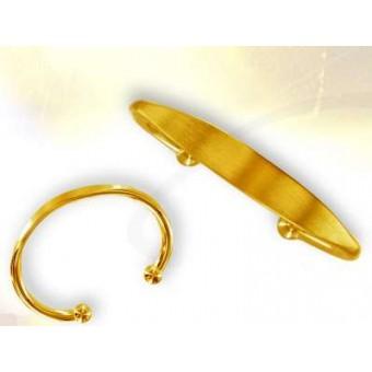 Bracelet jonc femme or