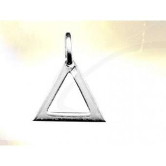 Silver Triangle masonic pendant
