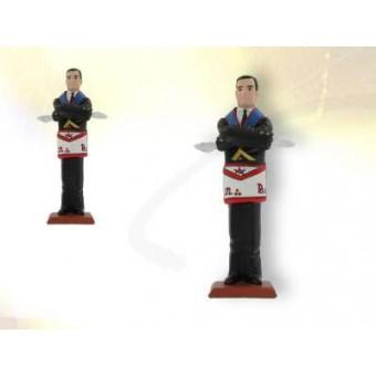 Figurina masonica CAD-UNION maestro REAA