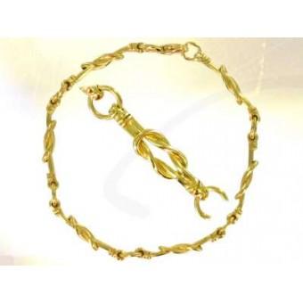 Vermeil Chain of Union bracelet
