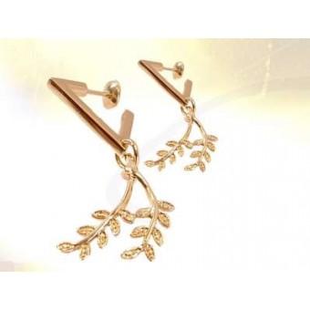 Acacia pendant earrings