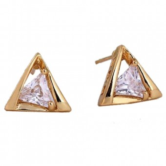 Bague triangle topaze mystique