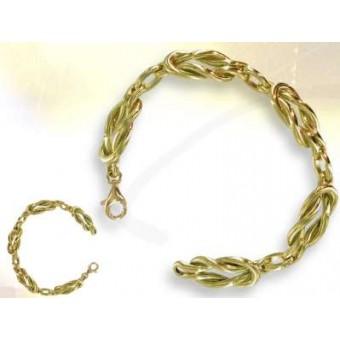 Love Lakes - vermeil masonic bracelet