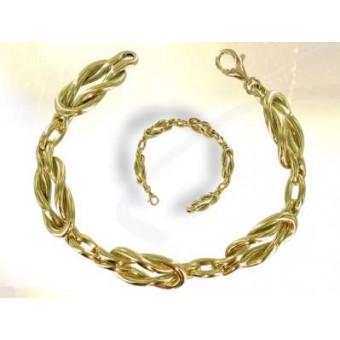 Love lakes - gold Masonic bracelet