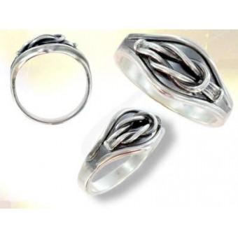 Silver masonic signet ring