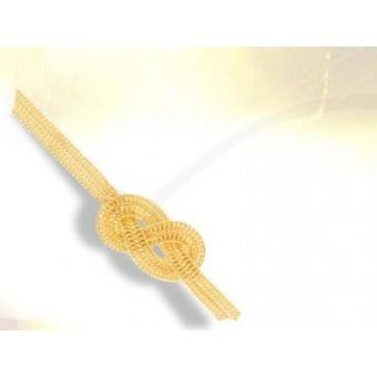 Vermeil masonic bracelet