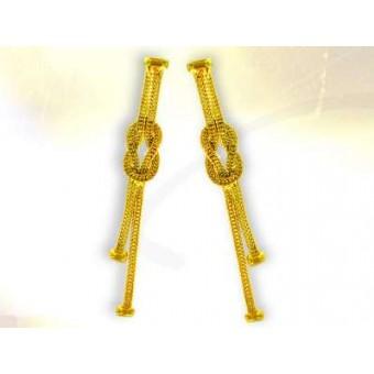 Vermeil masonic earrings