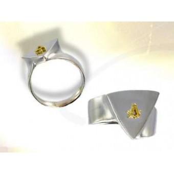 Chevalière franc-maçon symbole maçonnique