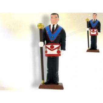 Master of Ceremony - masonic figurine