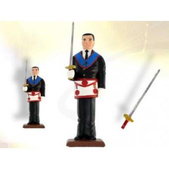 Figurine maçonnique COUVREUR