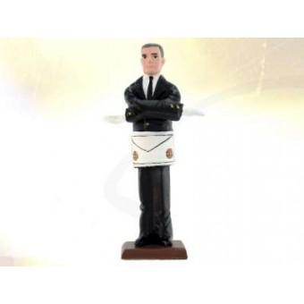 Figurine maçonnique CH.UNION maitre
