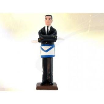 Mystic Tie - masonic figurine