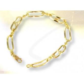 Gold masonic bracelet