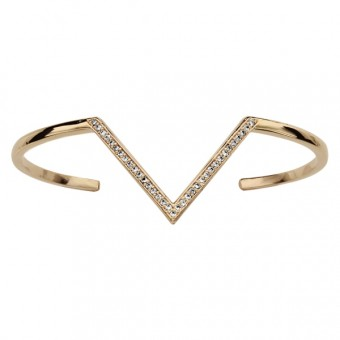 Garnet Triangle masonic necklace