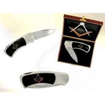 Freemason collector's knife